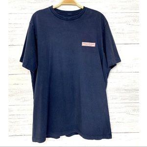 Vineyard Vines Navy Blue Signature T-Shirt
